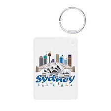 Sydney Skyline Keychains