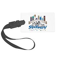Sydney Skyline Luggage Tag