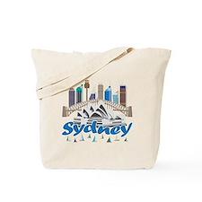 Sydney Skyline Tote Bag