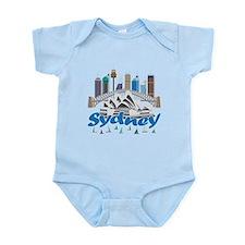 Sydney Skyline Body Suit