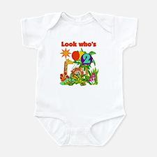 Safari 2nd Birthday Infant Creeper