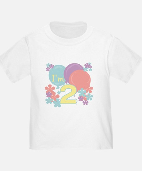 2nd Pastel Birthday T