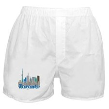 Toronto Skyline Boxer Shorts