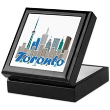 Toronto Skyline Keepsake Box