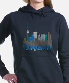 Toronto Skyline Women's Hooded Sweatshirt