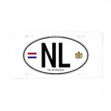 Cute Nl Aluminum License Plate