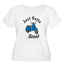Just Gotta Scoot Classic Blue T-Shirt