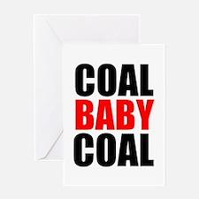Coal Baby Coal Greeting Cards