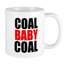 Coal Baby Coal Mugs