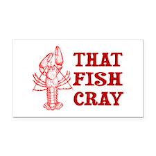That Fish Cray Rectangle Car Magnet
