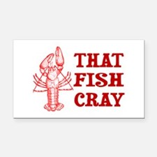 That Fish Cray Rectangle Car Magnet