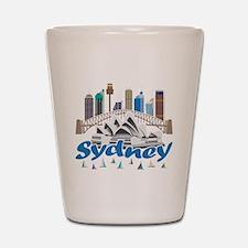 Sydney Skyline Shot Glass