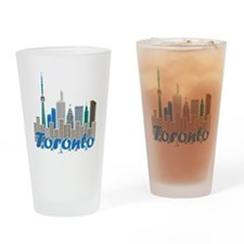 Toronto Skyline Drinking Glass