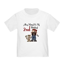 Pirate Party 2nd Birthday T