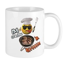 Chillin & Grillin Design 1 Mugs
