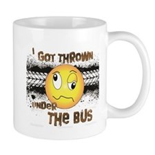 Under the Bus-Design 3 Mugs