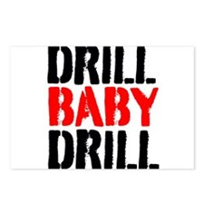 Drill Baby Drill Postcards (Package of 8)