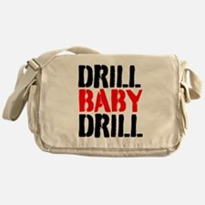 Drill Baby Drill Messenger Bag