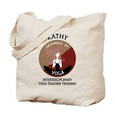 Grounded By Yoga - Personalized Tote Bag - Kathy
