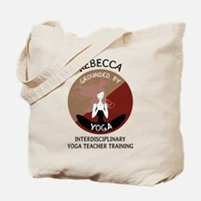 Grounded By Yoga - Personalized Tote Bag - Rebecca