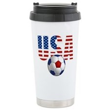 USA Soccer Travel Mug