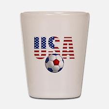 USA Soccer Shot Glass