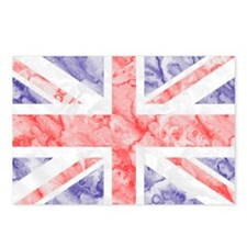 Union Jack Flag Postcards (Package of 8)