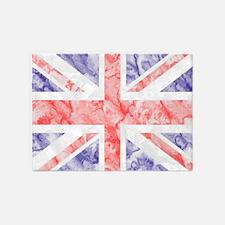 Union Jack Flag 5'x7'Area Rug