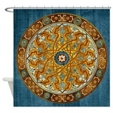 Harvest Moons Persian Medallion Shower Curtain