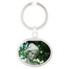 lady jane Oval Keychain