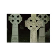 stone crosses Rectangle Magnet
