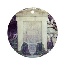 Stone Wall Round Ornament