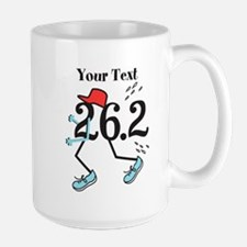 Personalized Runner 26.2 Mug