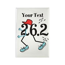 Customize Funny 26.2 Magnets