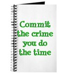 Commit the crime Journal