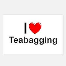 Teabagging Postcards (Package of 8)