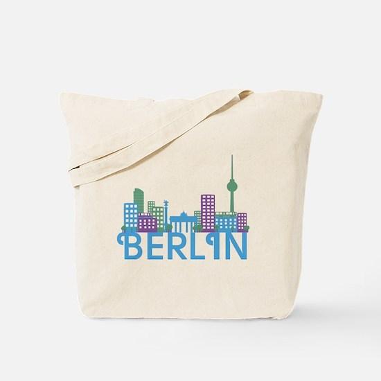 Cute Berlin Tote Bag