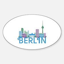 Unique Architecture Sticker (Oval)