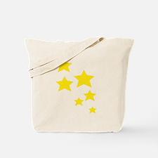 Cute Gold star Tote Bag