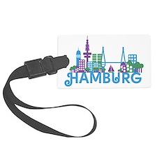 Cute Germany hamburg Luggage Tag