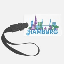 Cute Germany hamburg Luggage Tag