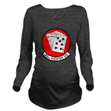 77SQ.png Long Sleeve Maternity T-Shirt