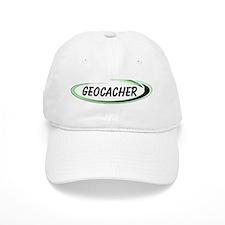 Green Geocacher Pizzaz Baseball Cap