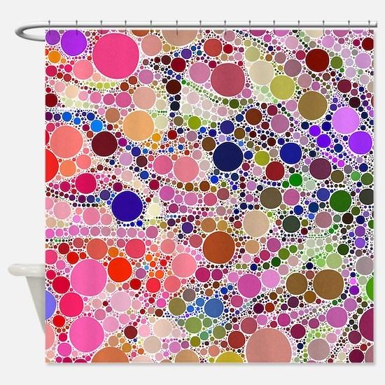 Bubble Fun 02 Shower Curtain