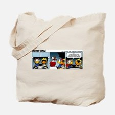 0720 - Canine encounter Tote Bag