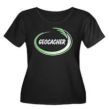 Green Geocacher Pizzaz T