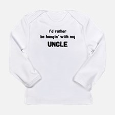 hangin with uncle Long Sleeve T-Shirt