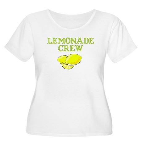 RP Lemonade Stand Women's Plus Size Scoop Neck T-S