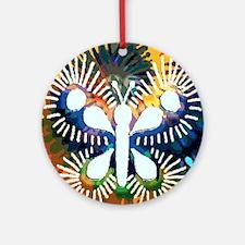 Chrysalis Rainbow Ornament (Round)