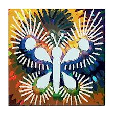 Chrysalis Rainbow Tile Coaster